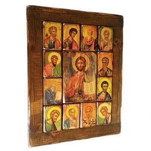 Χριστός & Δώδεκα μαθητές