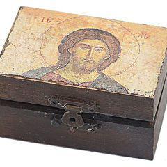 Ξύλινο Κουτάκι Ιησού Χριστού 922