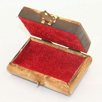 Ξύλινο κουτάκι με χαλκό