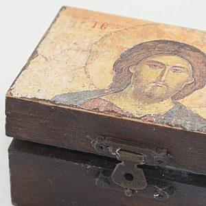 Ξύλινο κουτάκι Ιησού Χριστού