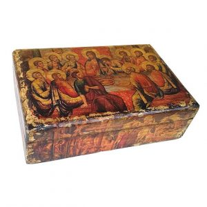 Κουτί ξύλινο παλαιωμένο