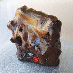 Εικόνα Παναγιάς (Μαντόνας) σε Κορμό Ελιάς